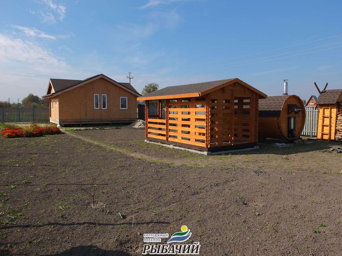 Благоустройство в коттеджном посёлке Удачное