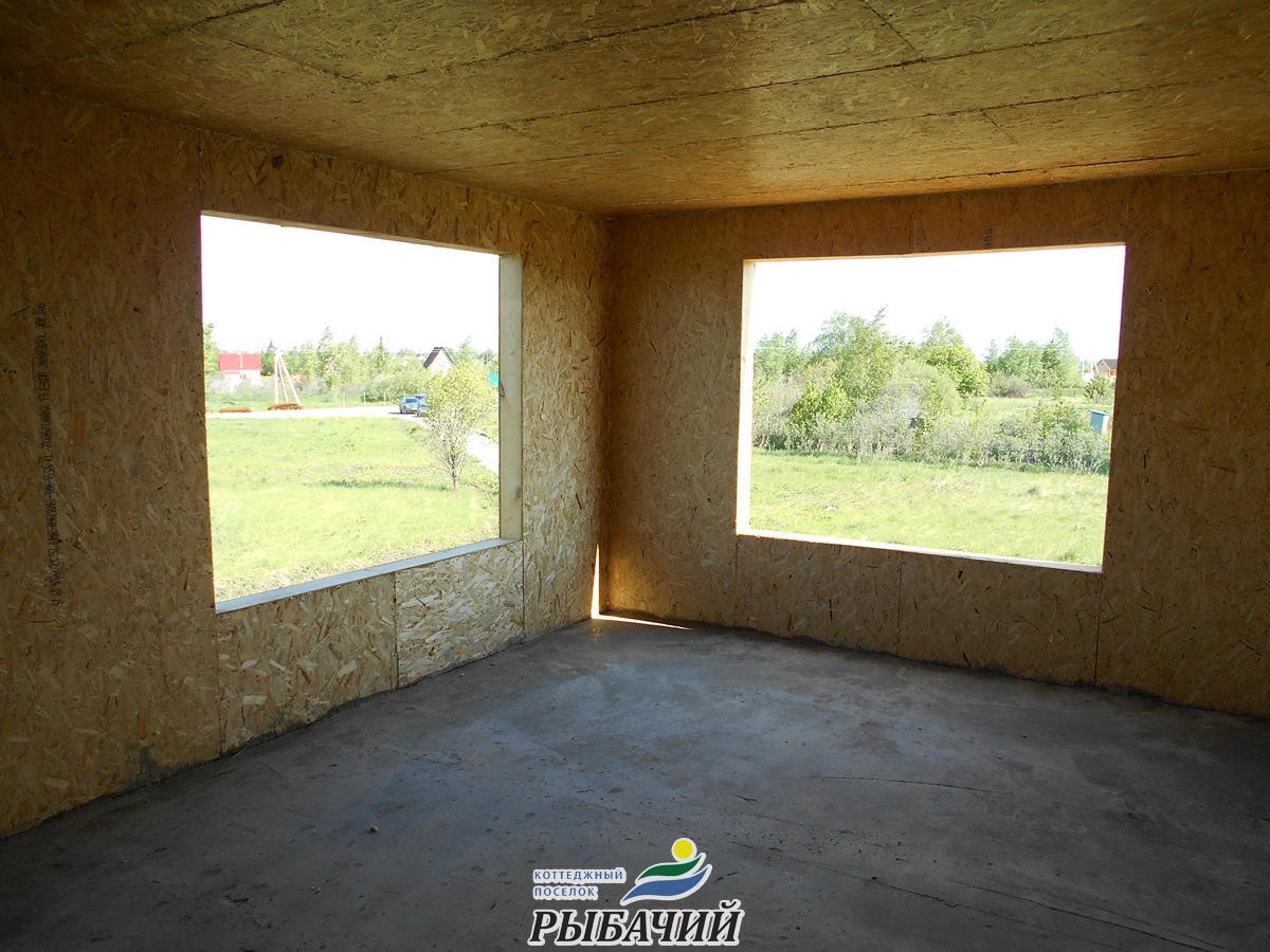Большие окна – залог светлого помещения