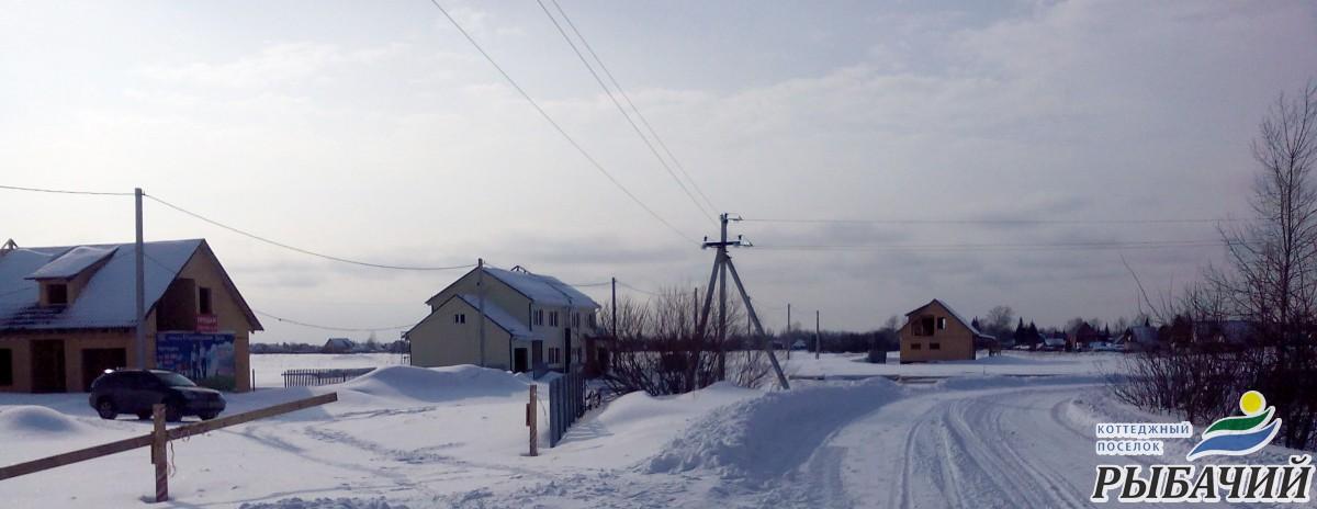 Фотоотчет строительства нашего коттеджного поселка Рыбачий