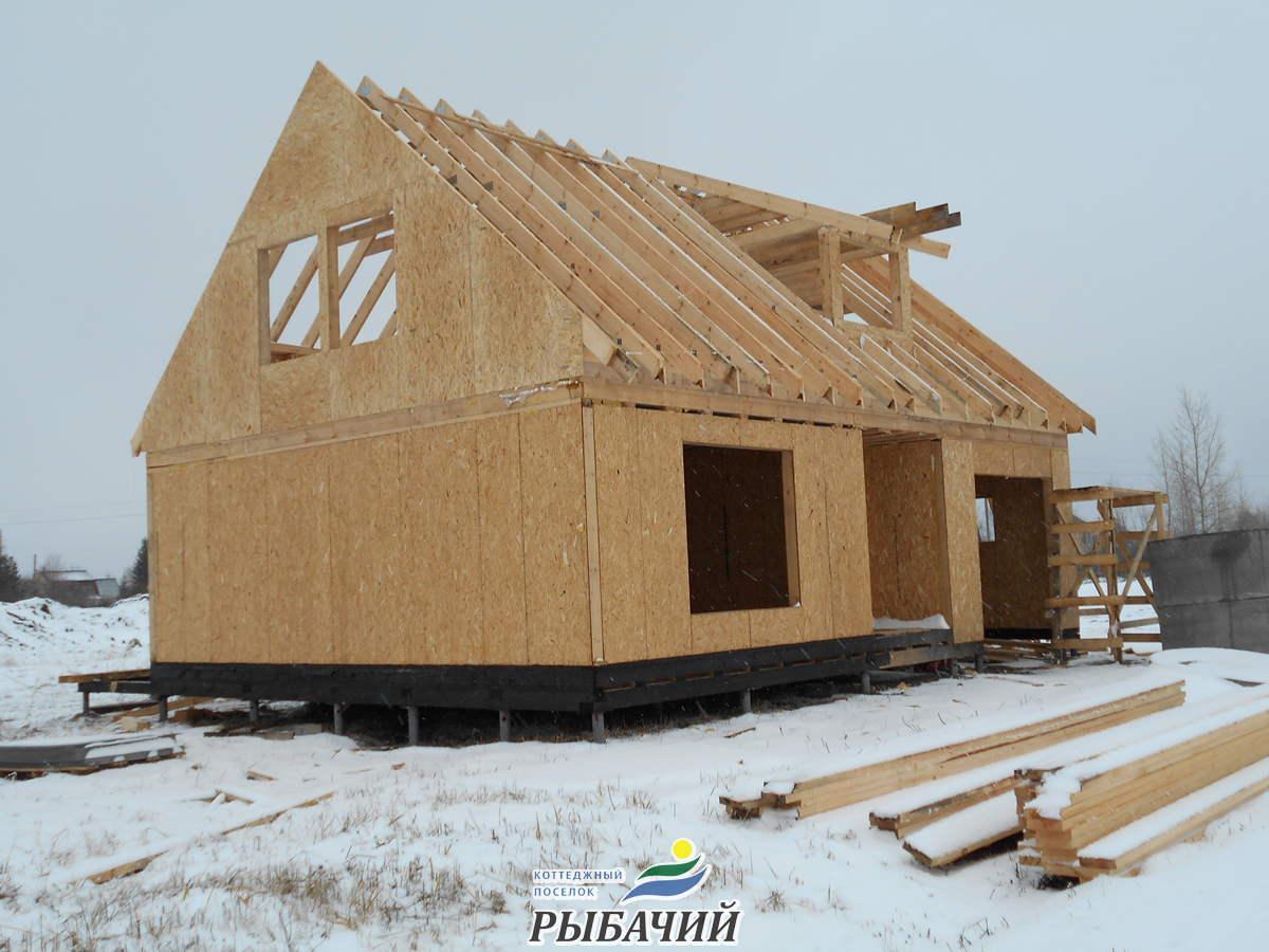 Строительство индивидуального дома Эконом-класса