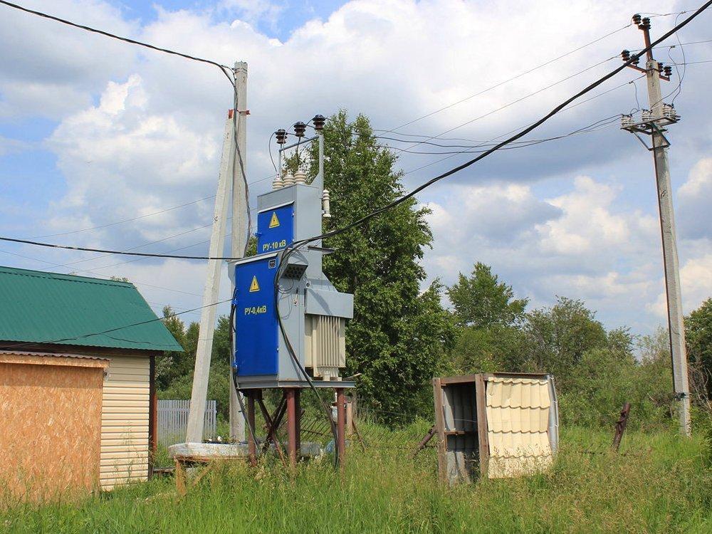 Электричество в коттеджном поселке Рыбачий