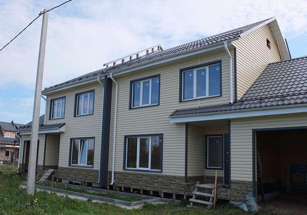 Готовый дом на двух хозяев