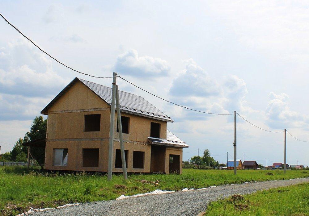 Построенный индивидуальный дом