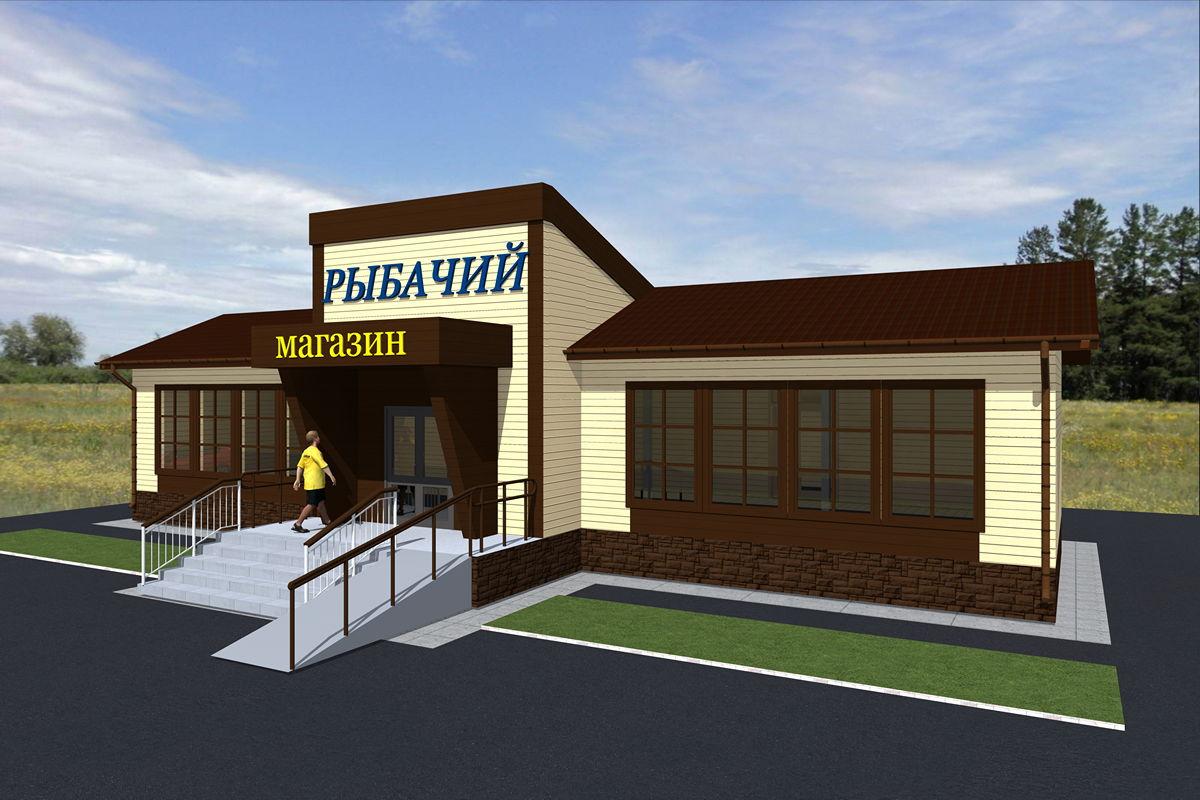 Строительство и продажа магазина