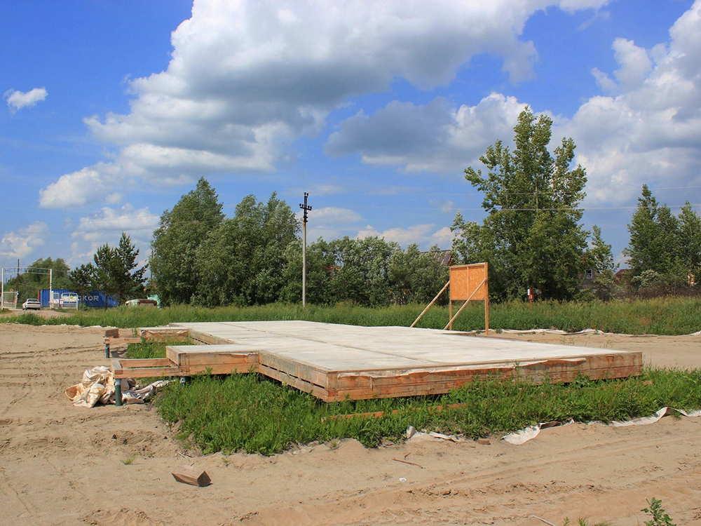 Строительство магазина в коттеджном поселке Рыбачий